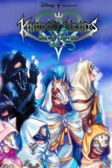 Kingdom Hearts χ Back Cover